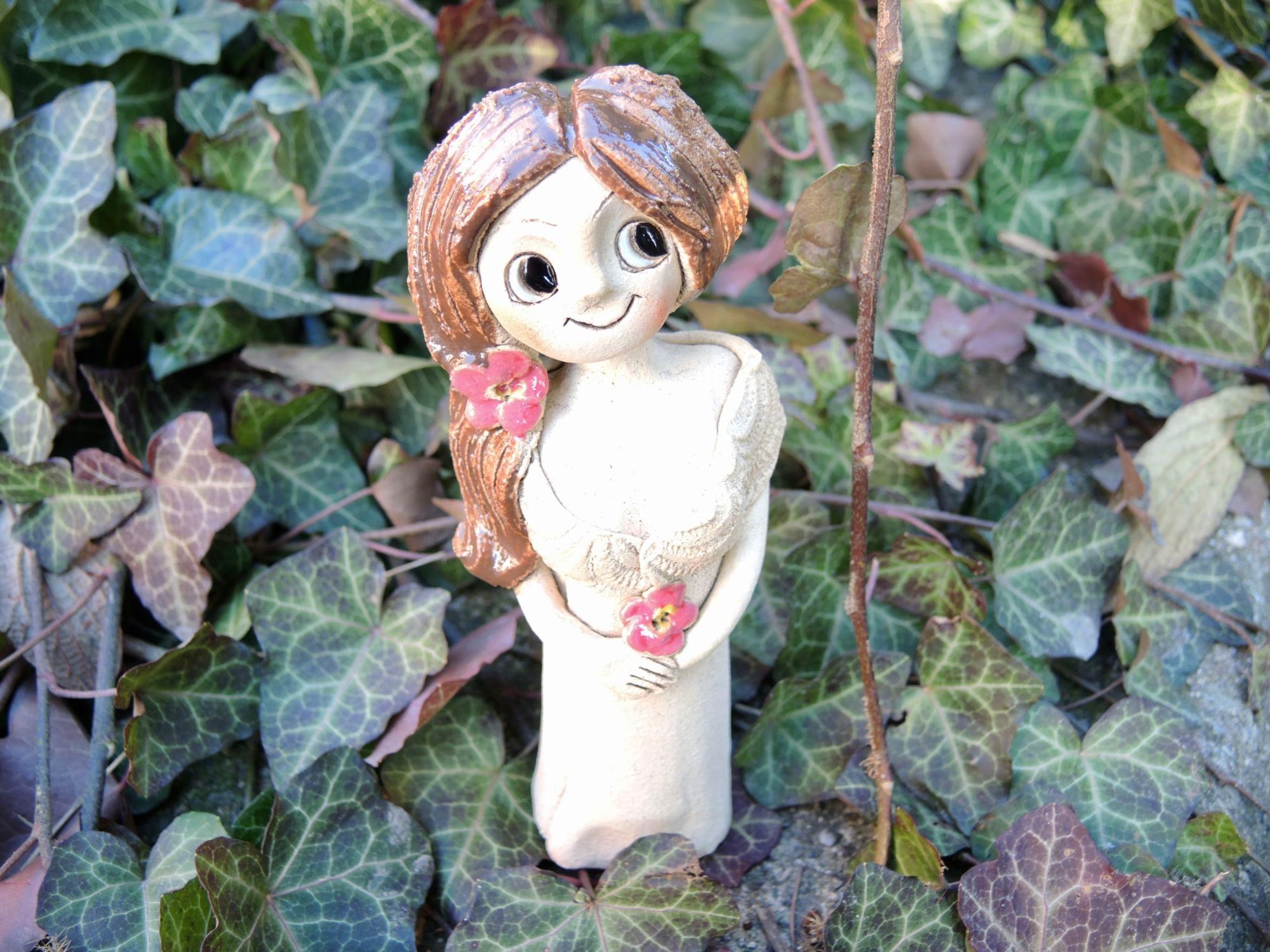 víla šípková růže květiny stojící dekorace zahrada dům keramika andee