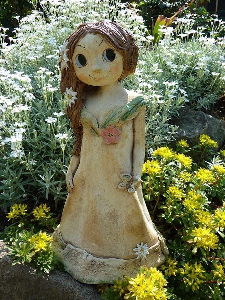luční víla skopretinou keramika andee