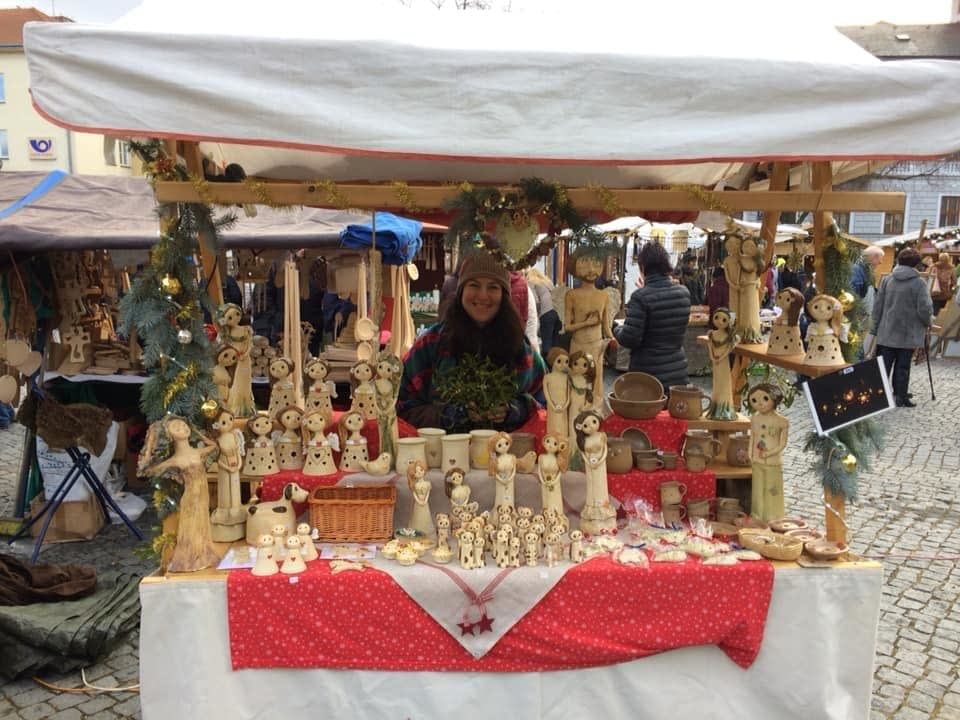 vánoční trhy keramika andee