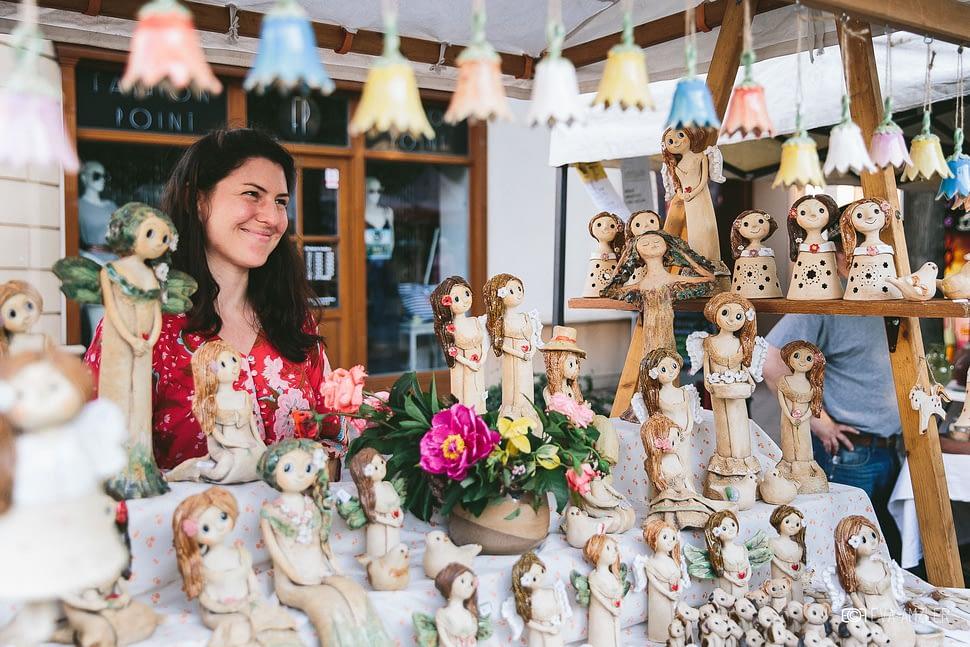 Keramicke trhy jarmark stánek keramika andee