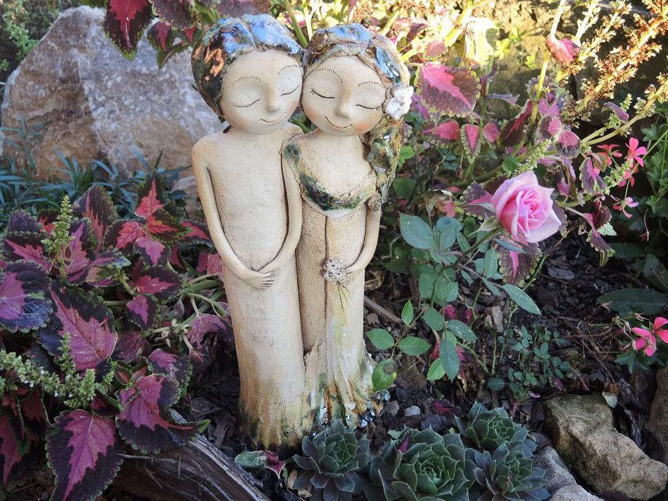 dvojice romance dva keramika andee