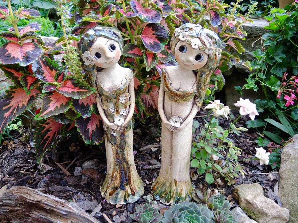 lesní víly keramika Andee
