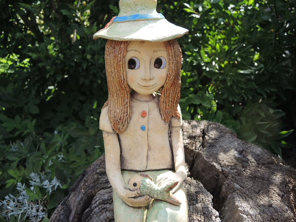 vodník česílko keramika andee