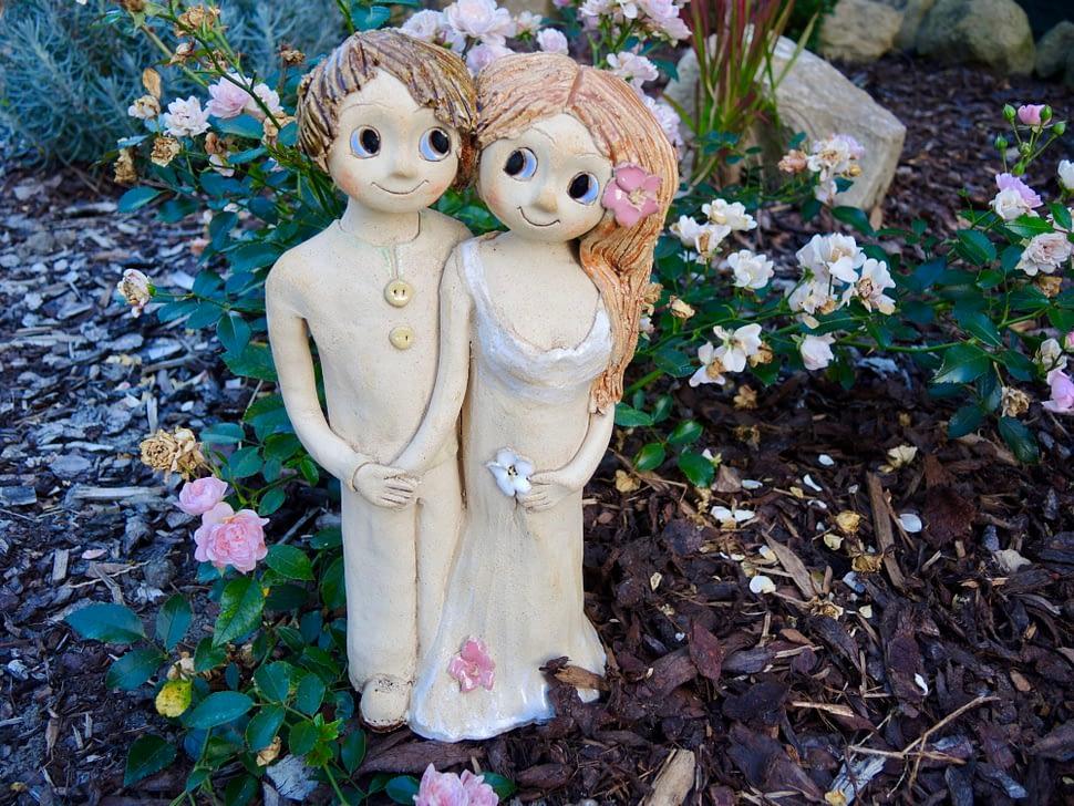 dvojice ona aon souznění propojení jednota láska dva soška keramika figura keramikaandee dekorace